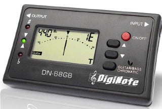 Diginote Guitar/Bass Tuner - DN-68GB