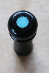 EPER Ebony/Rhodenite End Pin