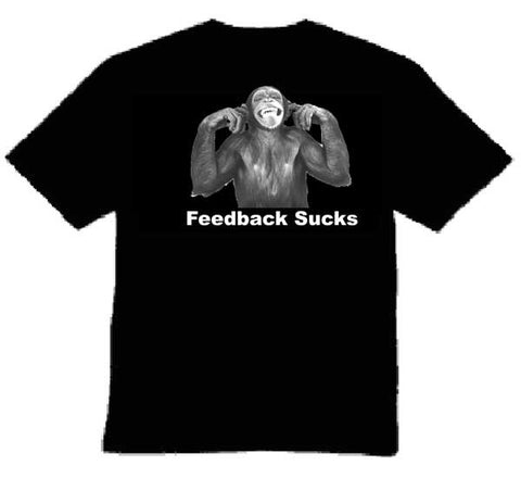 "Audio Tease ""Feedback"" T-shirt"
