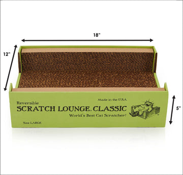 *New Size* Reversible Scratch Lounge Classic Large - Free Shipping*