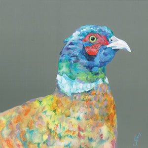 Heads Up Pheasant ORIGINAL PAINTING