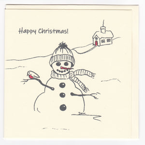4 Christmas Cards - various designs