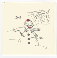 Load image into Gallery viewer, 3 Christmas Cards - JOY