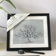 Load image into Gallery viewer, Friends & Family Tree - Black
