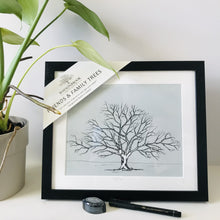 Load image into Gallery viewer, Friends & Family Tree - Large Oak Framed