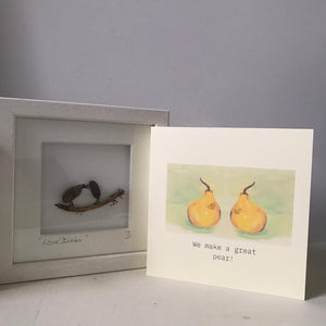 Bundle of Love - Love Birds & We make a great pear