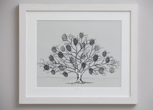 Large oak family tree