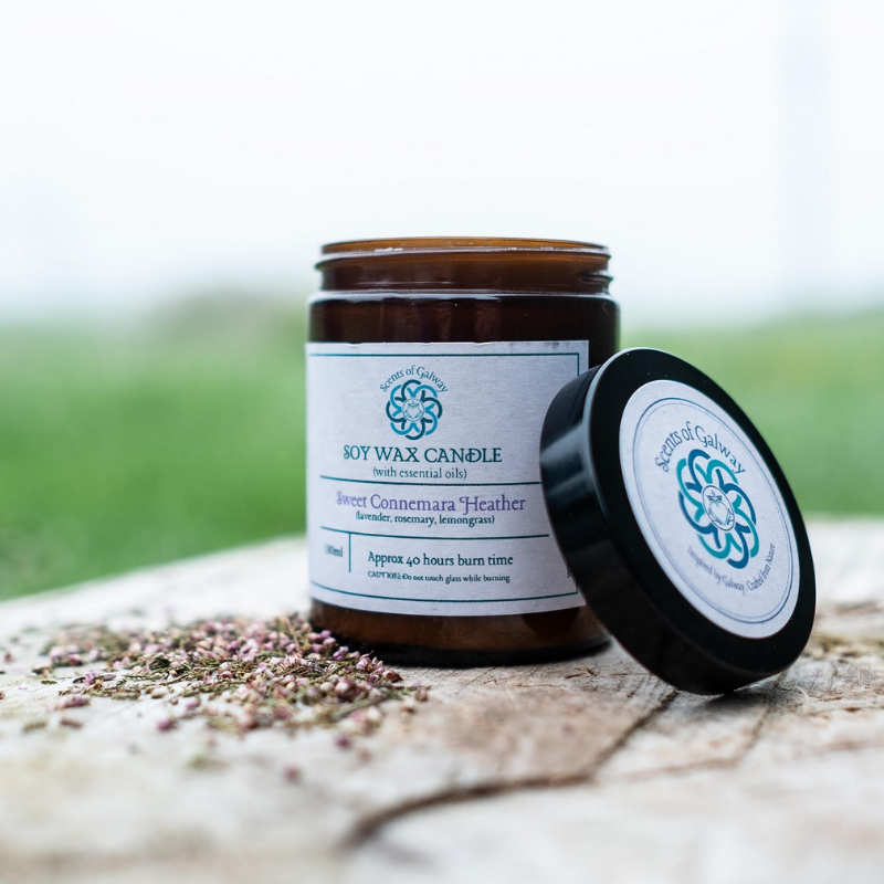 Sweet Connemara Heather Natural Soy Candle