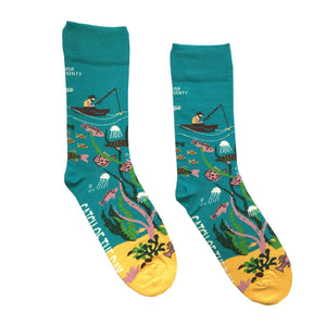 Catch of The Day Socks