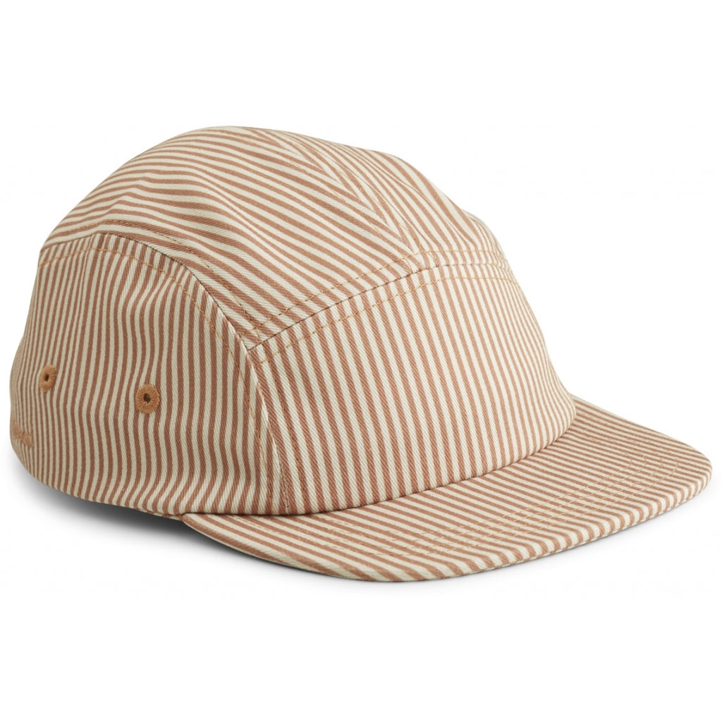 RORY CAP - STRIPE TUSCANY ROSE/SANDY