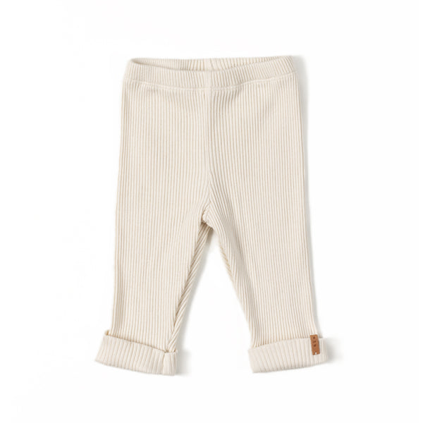 NIXNUT RIB LEGGING - CREAM