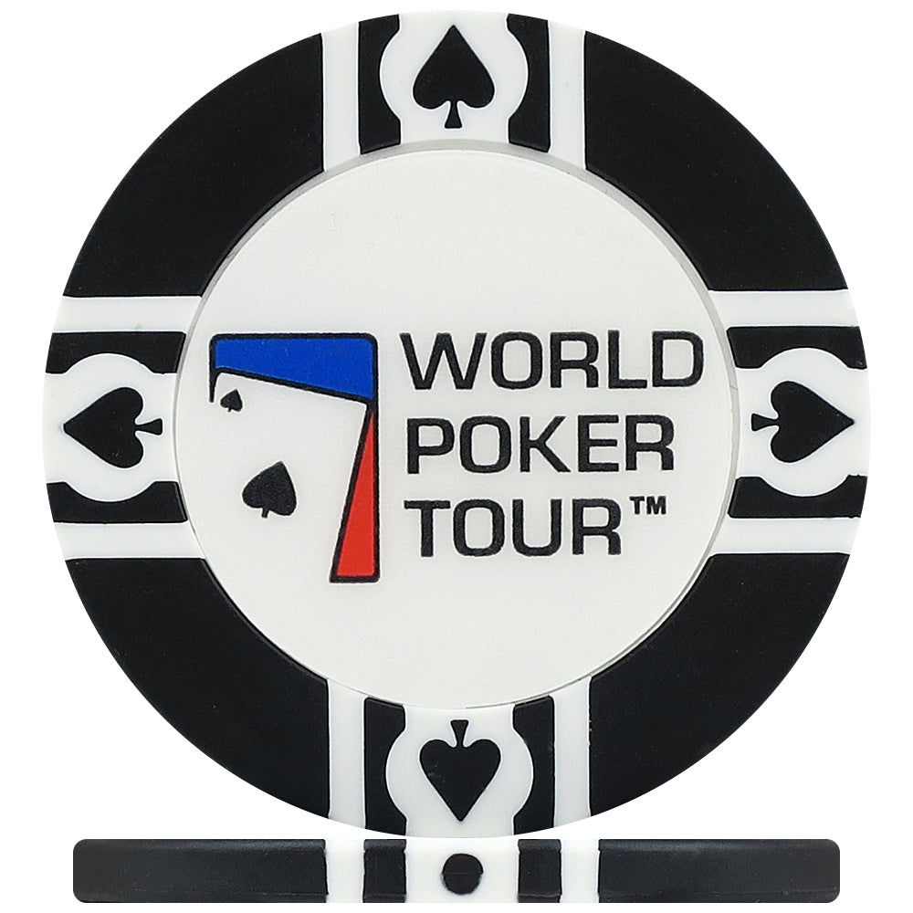 WPT World Poker Tour 500 Piece, 11.5g Poker Chip Carousel with WPT Playing Cards