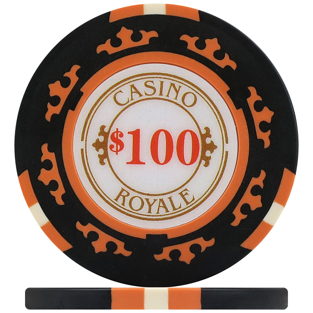Crown Casino Royale 14g Poker Chip Set - 300