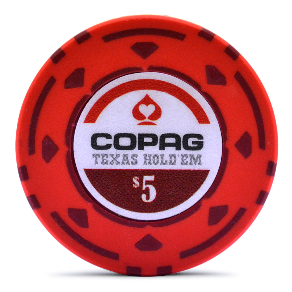Copag Texas Hold'em 300 Poker Chip Set