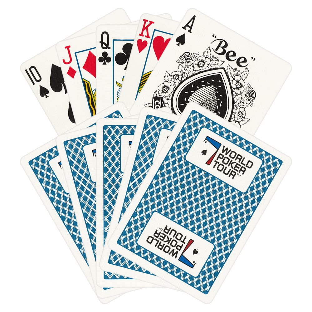 WPT World Poker Tour Playing Cards (Available in Red or Blue)