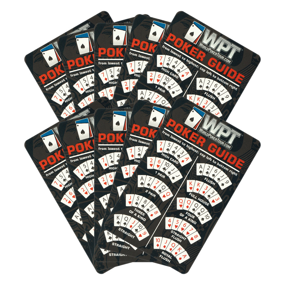 World Poker Tour (WPT) 11.5g 300 Poker Chip Set