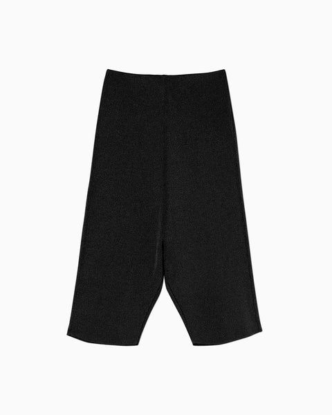Knitted Inner Shorts - black