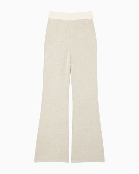 Soft Touch Knitted Pants - white
