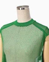 Net Tops - green