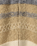 Mix Jacquard Knit Cardigan - beige