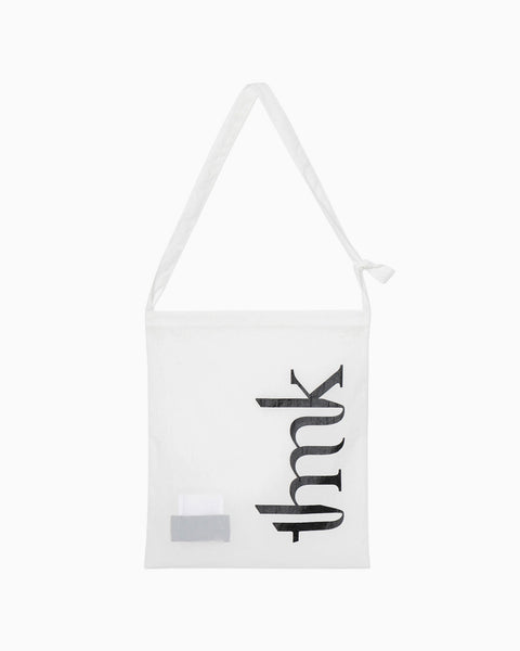 thmk Logo Cross Body Bag - white