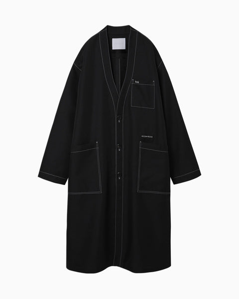 thmk Lab Coat - black