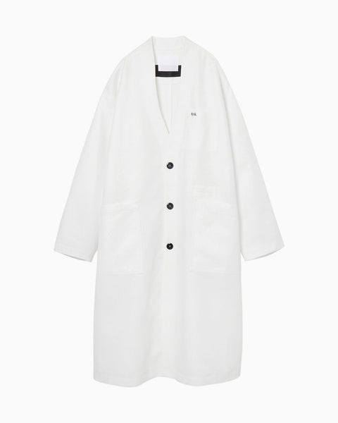 thmk Lab Coat - white