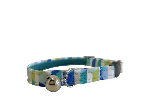 Abstract Ocean Cat Collar ©