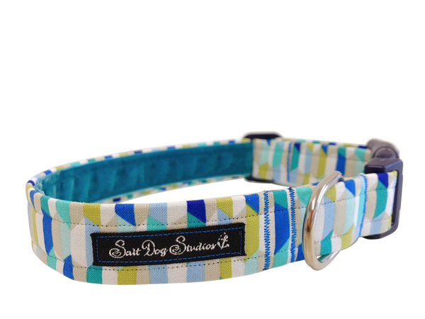 Abstract Ocean Dog Collar ©