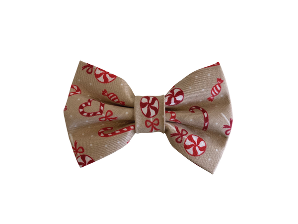 Candy Shop Natural Bow Tie ©