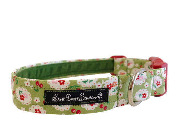 Betsy Green Dog Collar ©