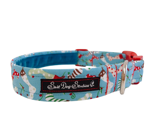 Christmas Stocking Dog Collar ©