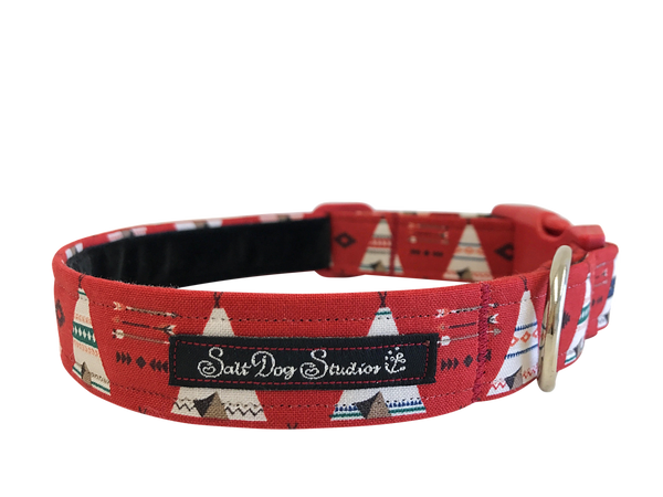 Fireside Stories Dog Collar ©