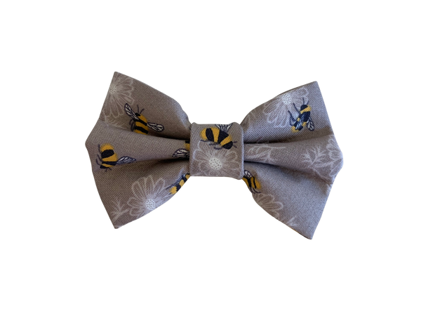 The Bee's Knees Taupe Bow Tie ©
