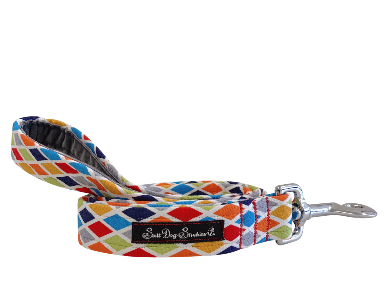 Harlequin Dog Lead ©