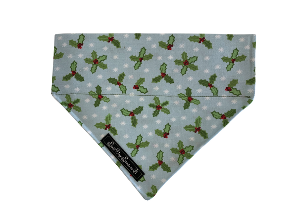Festive Holly Bandana ©