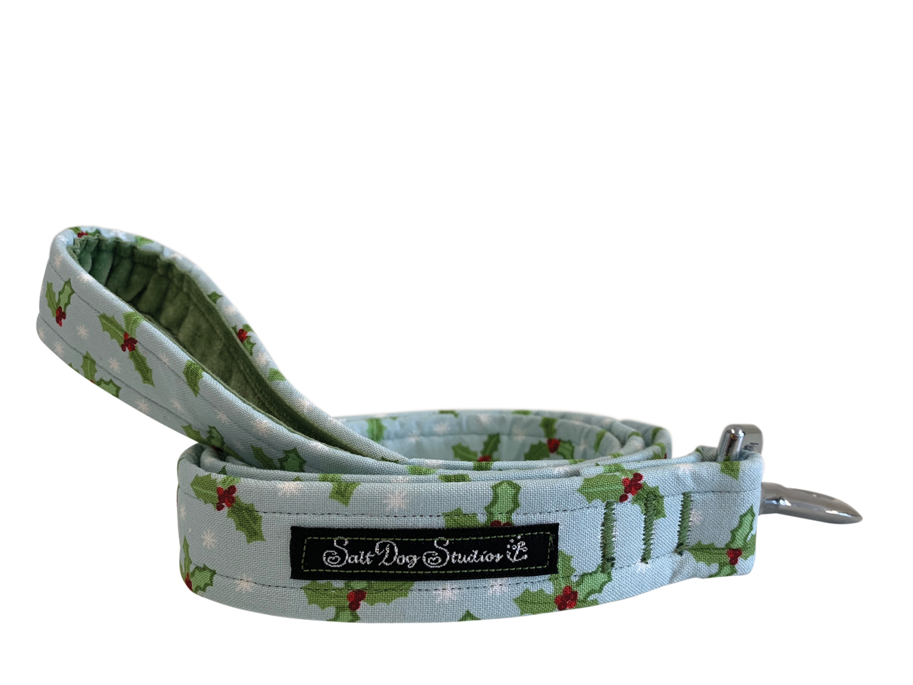 Festive Holly Dog Lead ©