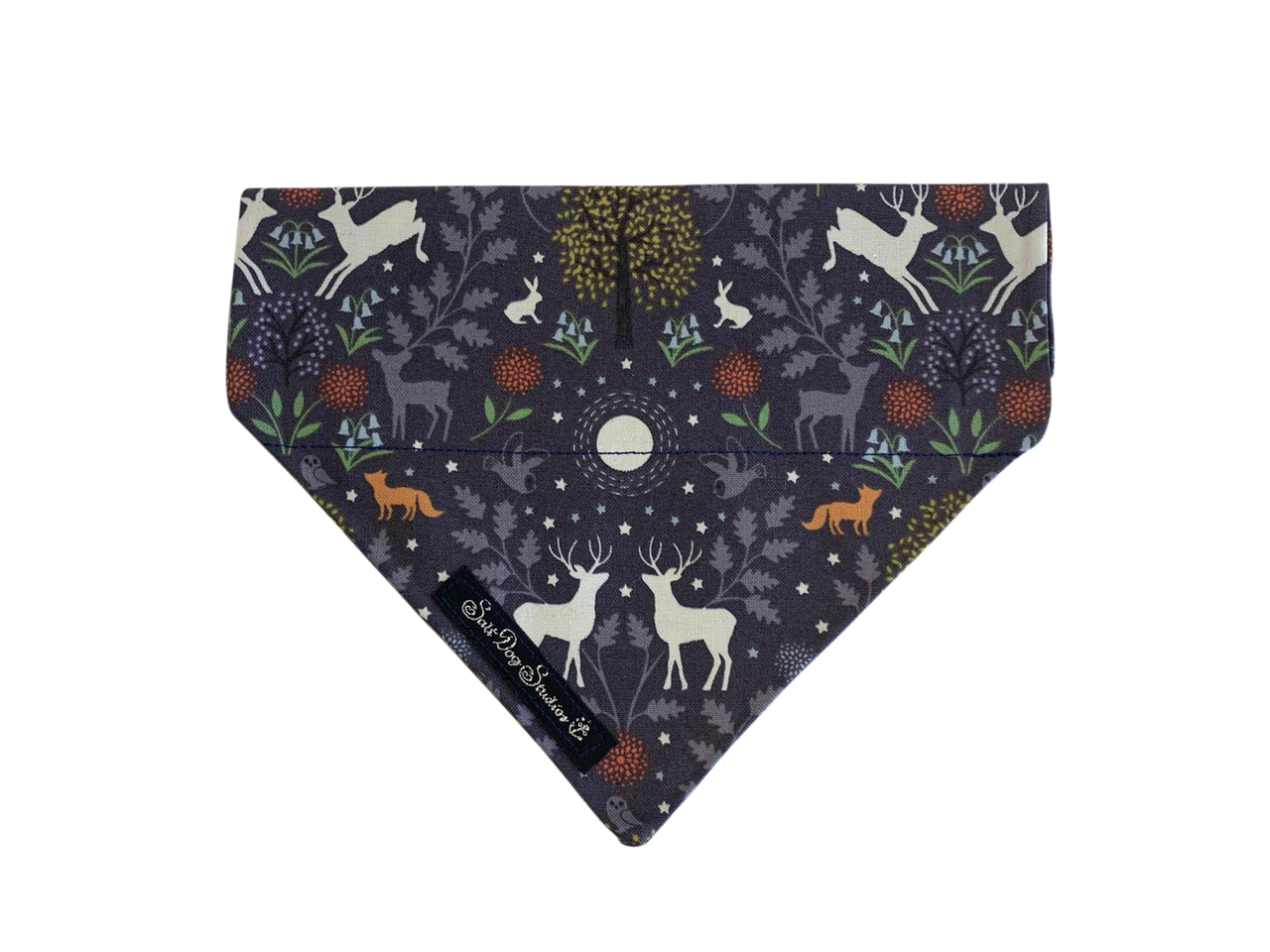 Woodland at Midnight Bandana ©
