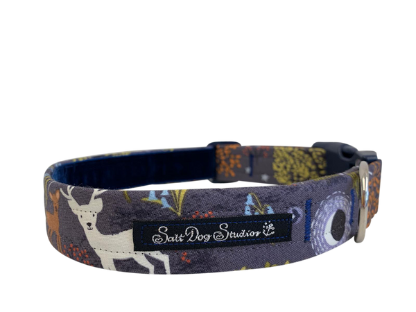 Moonlit Forest Dog Collar ©
