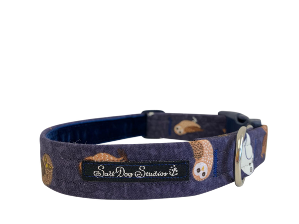 Night Owl Dog Collar ©