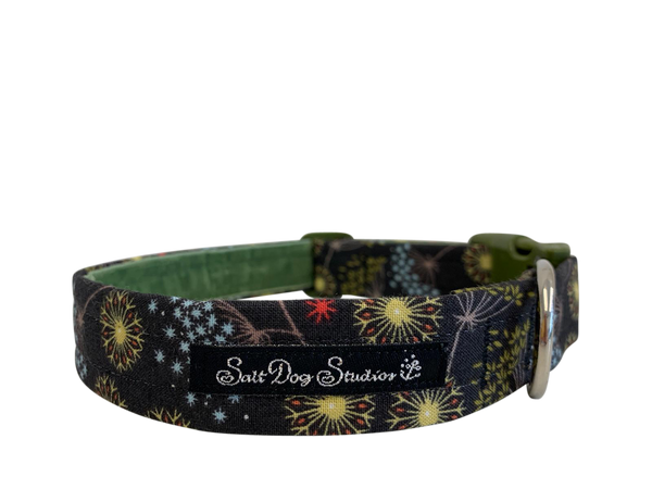 Winter Bloom Dog Collar ©