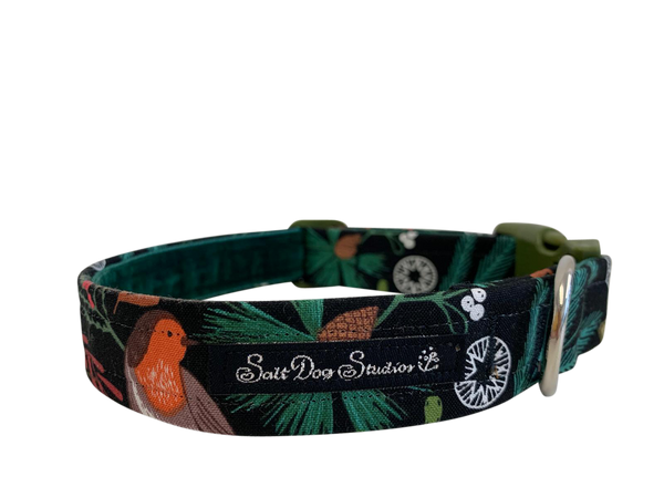 Merry Robin Dog Collar ©