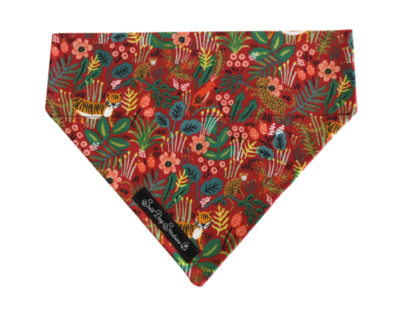 Just So .... Jungle Rouge Bandana ©