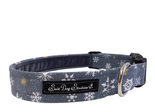 Lexi's Snowflake Dog Collar ©