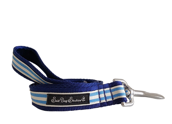 Light Blue Stripe Dog Lead ©
