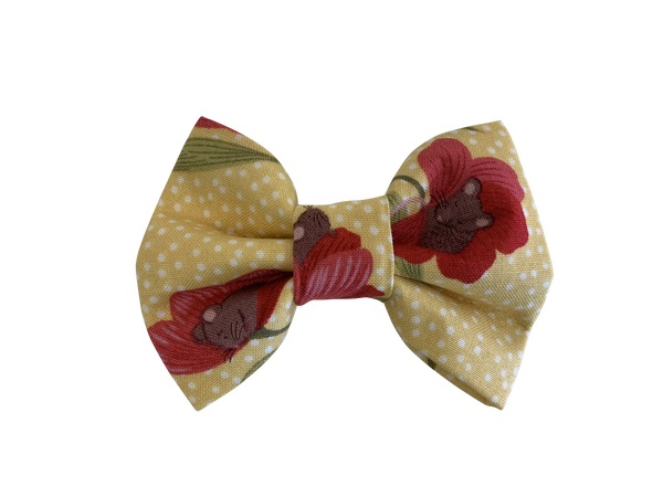 Flower Bed Bow Tie ©
