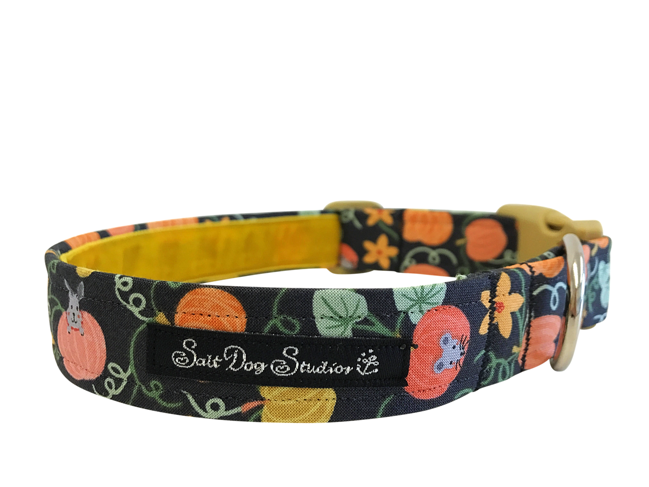Pumpkin Patch Dog Collar ©