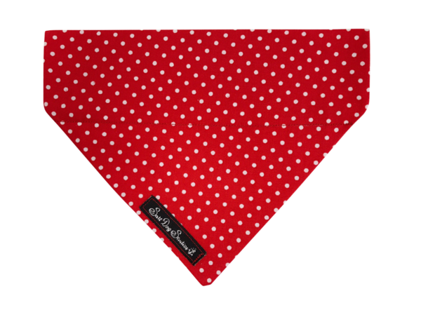 Red Polka Dot Dolly Bandana ©
