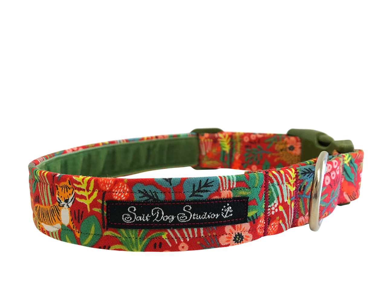 Just So ..... Jungle Rouge Dog Collar ©
