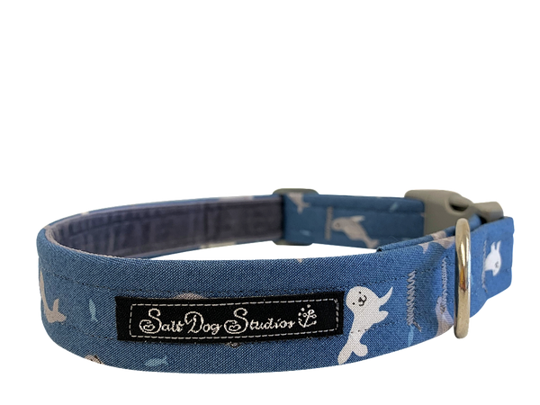 Nelson The Seal Dog Collar ©